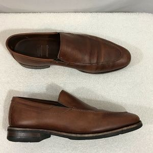 Allen Edmonds Hillsborough brown/camel loafers